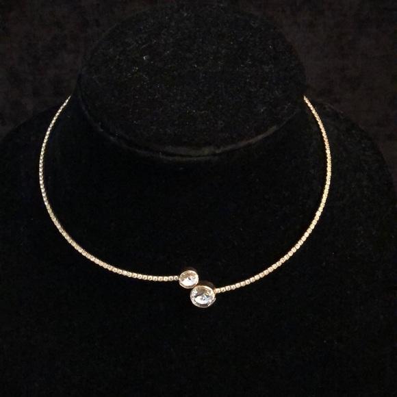 Merx Jewelry - Merx Gold Crystal Choker